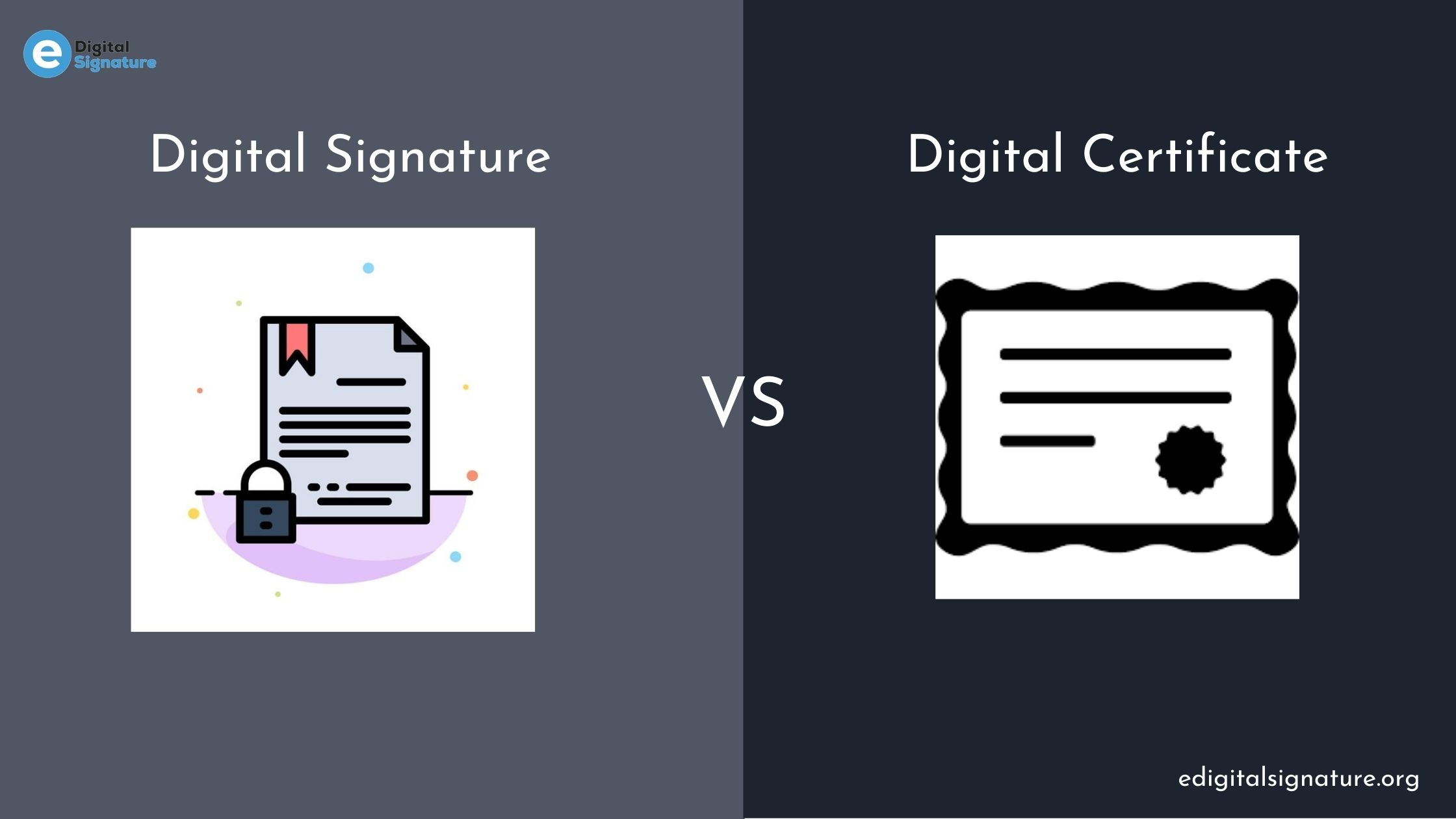 Difference Between Digital Signature and Digital Certificate